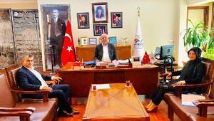 TÜGVA'dan Başkan Seyfi Dingil'e ziyaret