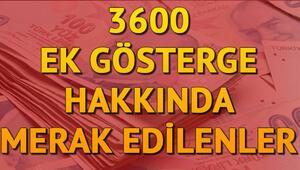3600 ek gösterge ne zaman yasalaşacak İşte 3600 ek göstergede son durum