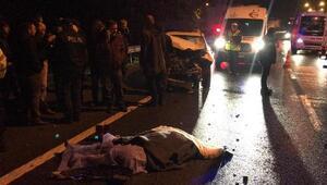 Otomobilin çarptığı eczacı kadın, öldü