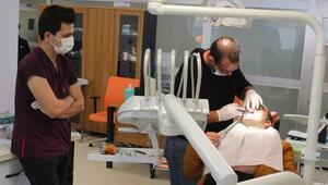 İran ve Iraklılar ağız ve diş sağlığı tedavisi için Hakkariye geliyor