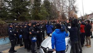 Dışişleri Bakanlığı önündeki eyleme müdahale: 5 gözaltı