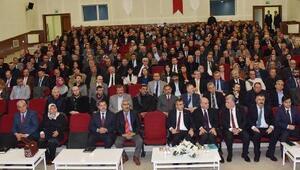 Vali Sezer, okul aile birliği başkanlarıyla görüştü