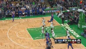 NBAde gecenin en güzel hareketi Mitchell Robinsondan
