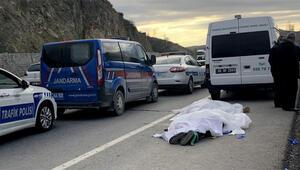 Ankarada otomobil dereye uçtu