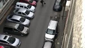 (Geniş haber) Güngörende silahlı gaspçı kaçarken görüntülendi