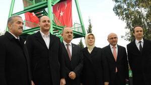 Hersek Lagünü'nde kuş gözlem kulesi açıldı