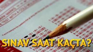 AÖL sınavı saat kaçta (8-9 Aralık AÖL sınav saatleri)