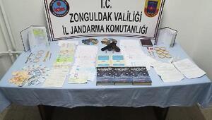Zonguldakta tefeci operasyonu: 8 gözaltı