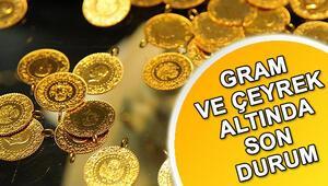 Altın fiyatları günü nasıl kapattı Çeyrek altın ne kadar