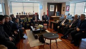 Başkan Gökhan, Oda Başkanlarıyla bir araya geldi