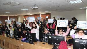 Kırklareli Üniversitesi tarafından kodlama saati etkinliği düzenlendi