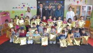 Anaokulu öğrencilerinden sınırdaki Mehmetçiğe mektup