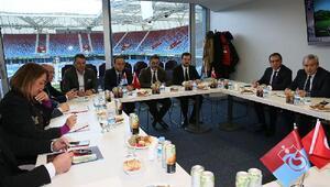 Trabzonspor Yönetim Kurulunda görev dağılımı yapıldı