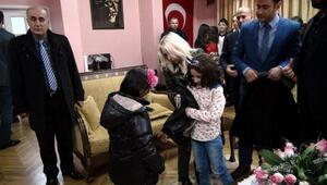 Kiliste, yetim çocuklara kaban yardımı