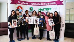 Anneler ve bebekleri 'Maltepe 95' programına katıldı