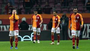 Galatasarayda çöküş