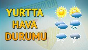 Meteorolojiden son dakika hava durumu bilgisi...Bugün yağmur var mı