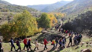 Sağlanan huzurla Diyarbakır, dağcı sporcuların akınına uğradı