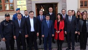 Ankara Valisi Vasip Şahin, Ankara ilçelerini ziyaret ediyor