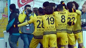 Yeni Malatyaspordan müthiş geri dönüş Tam 4 gol...