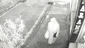 Güvenlik kamerası şirketindeki hırsızlık anı kamerada