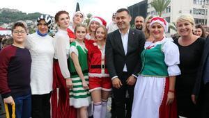 Alanyada Noel pazarı kuruldu