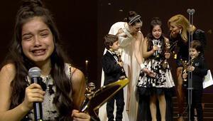Ağlamaktan konuşamadı...45. Pantene Altın Kelebek Ödüllerinde duygusal anlar