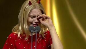 Aleyna Tilkinin gözyaşları