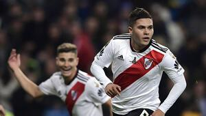 Madridde zafer River Platein Boca arkasını getiremedi...