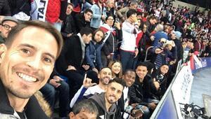 Trabzonsporlu futbolcuların River-Boca keyfi