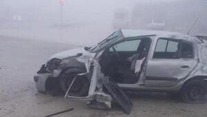 Otomobil takla attı, emniyet kemeri takmayan sürücü öldü