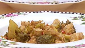 Brokolili tavuk yemeği nasıl yapılır