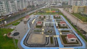 Diyarbakırda Çocuk Trafik Eğitim Parkıaçıldı