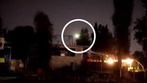Meksikada meteor kayması böyle görüntülendi