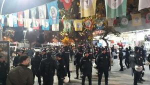 HDP Batman İl Başkanlığında açlık grevi başlatanlara operasyon: 27 gözaltı/ Ek fotoğraflar