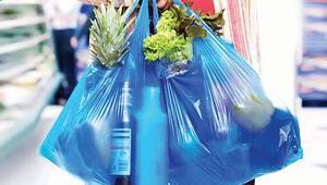 1 kuruşluk deneme... Plastik alışveriş  poşetleri 1 Ocak'tan itibaren 25 kuruş olacak