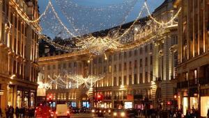 Londra'da yeni yıl şöleni