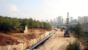Düzbağ Projesi inşaatı, şehir merkezine ulaştı