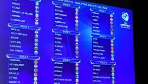 Ümit Milli Futbol Takımının EURO 2021 rakipleri belli oldu