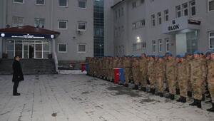 Vali Akbıyık, Jandarma Özel Harekat Taburunu ziyaret etti