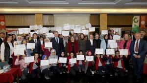 STEM okulunda 200 öğrenciye sertifika verildi