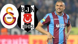 Burak Yılmaz düğmeye bastı Beşiktaş ve Galatasaray...
