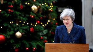 Son dakika... Başbakan Theresa May için güven oylaması