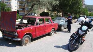 İzmirdeki hurda araçlar kaldırılacak