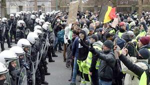 Belçika ikiye bölündü: Cumartesi destek, pazar protesto...