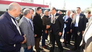 Başkan Sözlü, şoförleri ziyaret etti