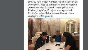 Şehit Emniyet Müdürü,Ertekin'in çocukluk arkadaşı çıktı