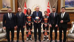 Cumhurbaşkanı Erdoğana sürpriz hediye