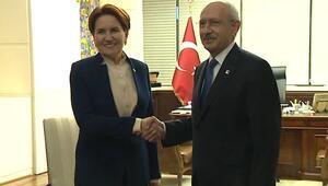 Meral Akşener CHP Genel Merkezine geldi