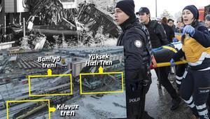 Son dakika... Ankarada Yüksek Hızlı Tren kazası: 7 kişi hayatını kaybetti, 46 yaralı var